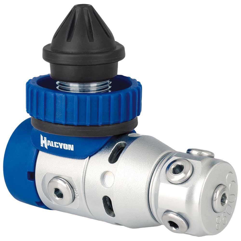 Halcyon H-75p Din 1. Stufe Atemregler Blue Atemregler 1 Stufe H-75p Din 1. Stufe Atemregler