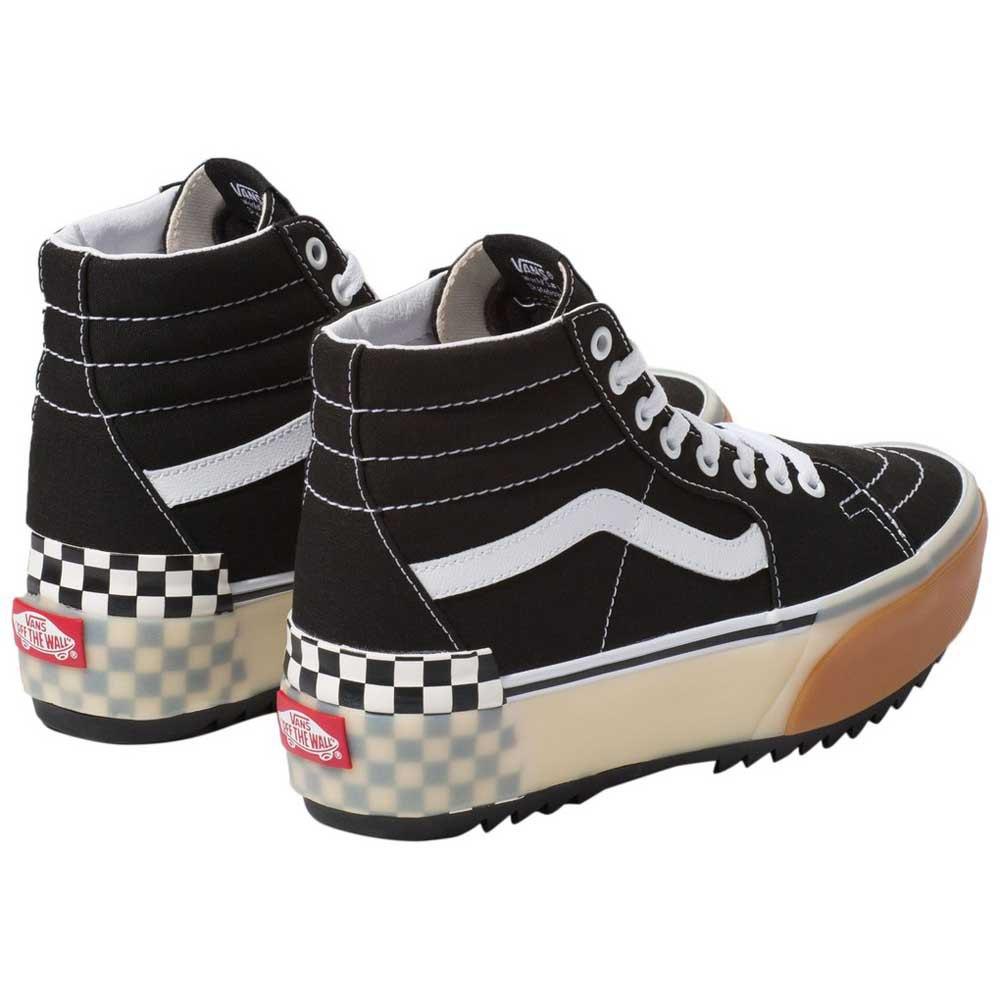 Detalles de Vans Sk8 hi Stacked Negro T87514 Zapatillas Negro , Zapatillas Vans , deportes