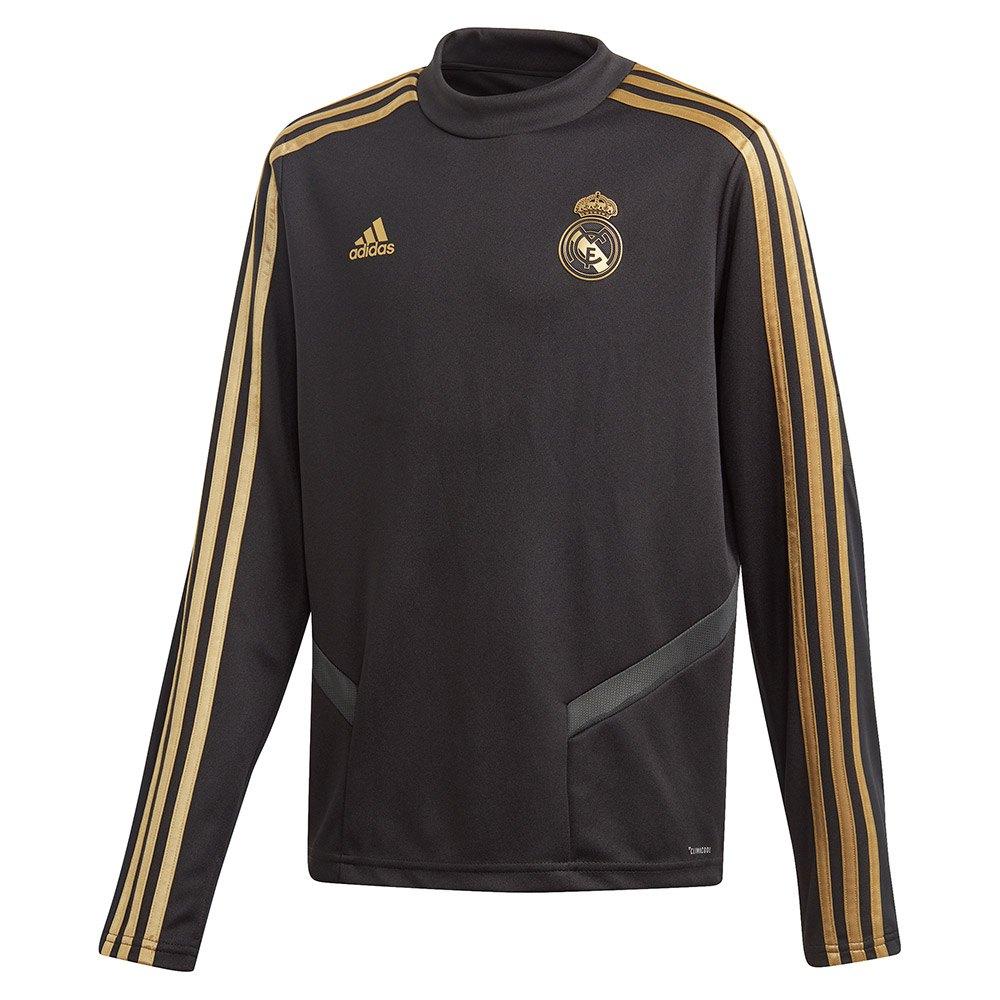 Adidas Real Madrid Training 19/20 Junior 164 cm Black / Dark Football Gold