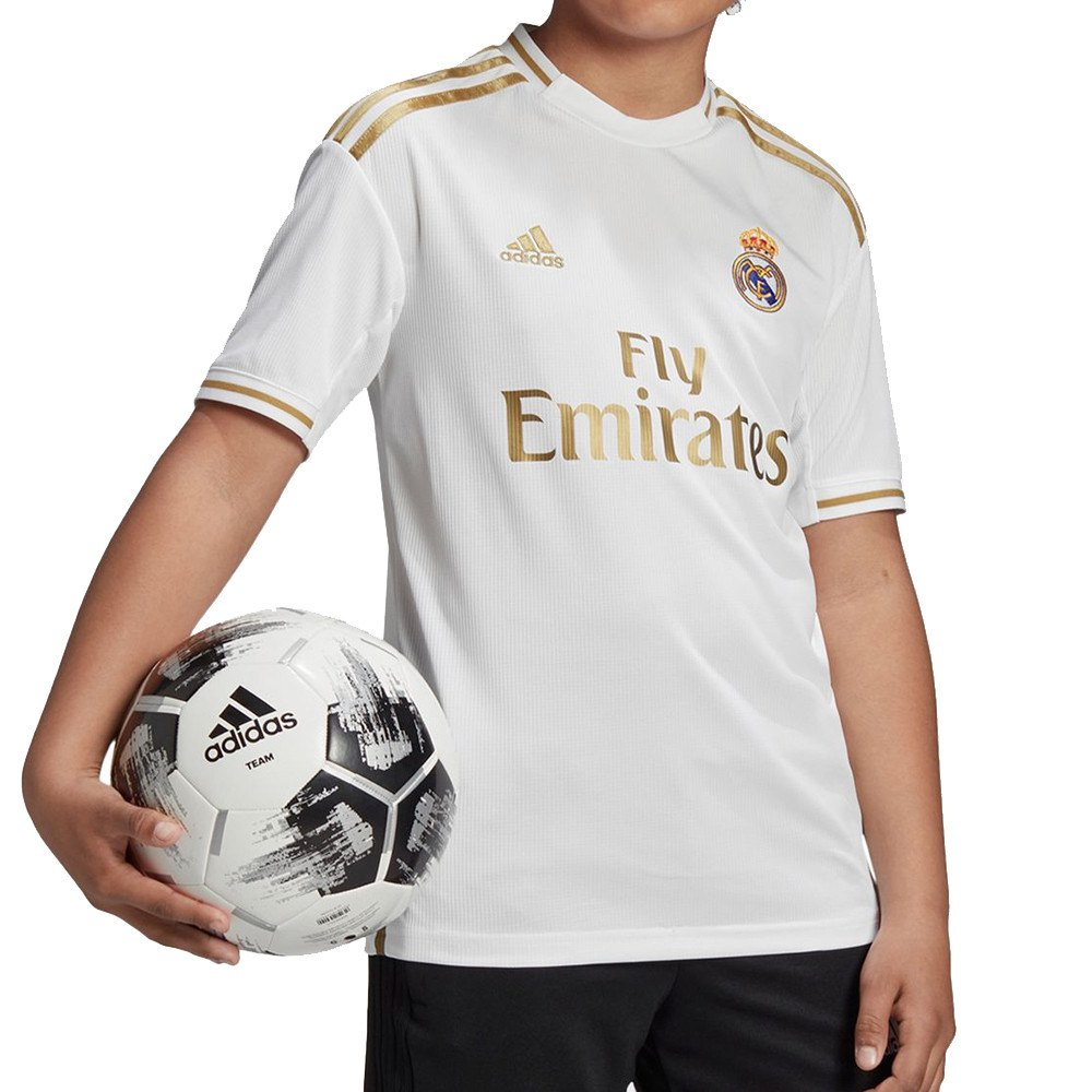 Adidas Real Madrid Home 19/20 Junior 140 White
