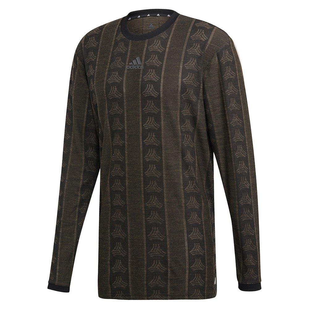 Adidas Tango Adv T-shirt Manche Longue L Black