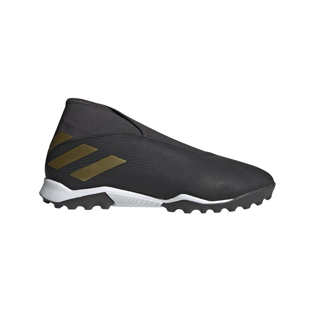 Adidas Nemeziz 19.3 Laceless Tf Football Boots EU 46 Core Black / Gold Metal / Utility Black