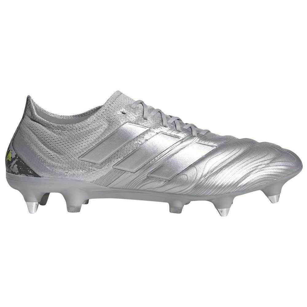 Adidas Copa 20.1 Sg EU 42 Silver Metal / Silver Metal / Solar Yellow