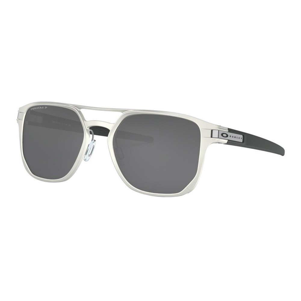 Oakley Latch Alpha Prizm Black Polarized/Cat3 Matte Silver