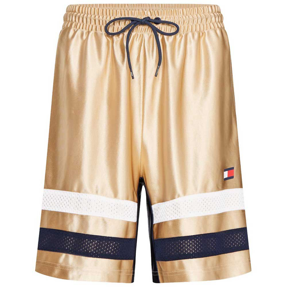 Tommy Hilfiger Sportswear Retro Boxing Stripe 9´´ XL Gold