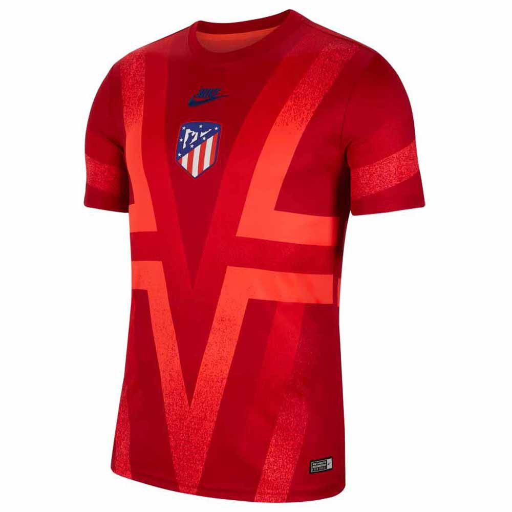 Nike Atletico Madrid Dri Fit Pre Match Champions League 19/20 L Gym Red / Bright Crimson / Blue Void