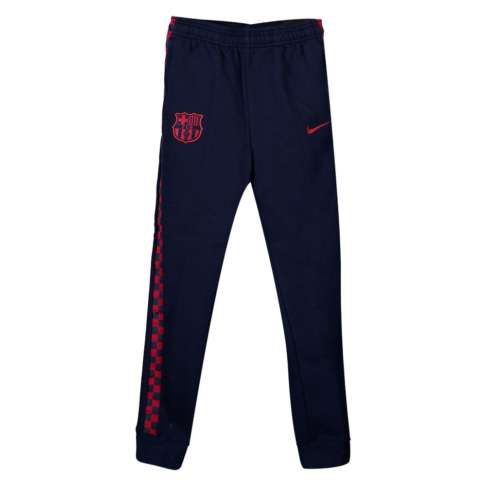 Nike Fc Barcelona Graphic Knit 19/20 Junior S Obsidian / Noble Red