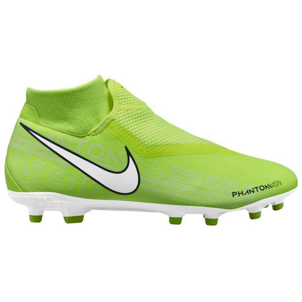 Nike Phantom Vision Academy Dynamic Fit Fg/mg Football Boots EU 43 Volt / White / Volt