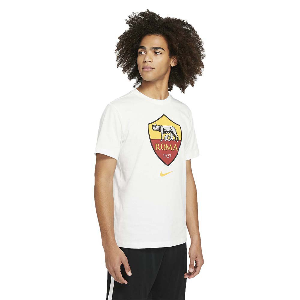 Nike As Roma Evergreen Crest 19/20 XL White