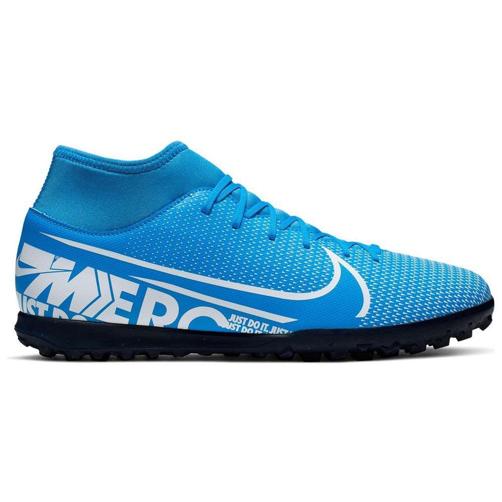 Nike Mercurial Superfly Vii Club Tf EU 36 Blue Hero / White / Obsidian