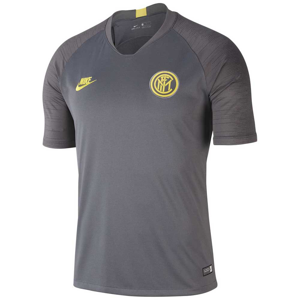 Nike Inter Milan Breathe Strike 19/20 S Dark Grey / Anthracite / Tour Yellow