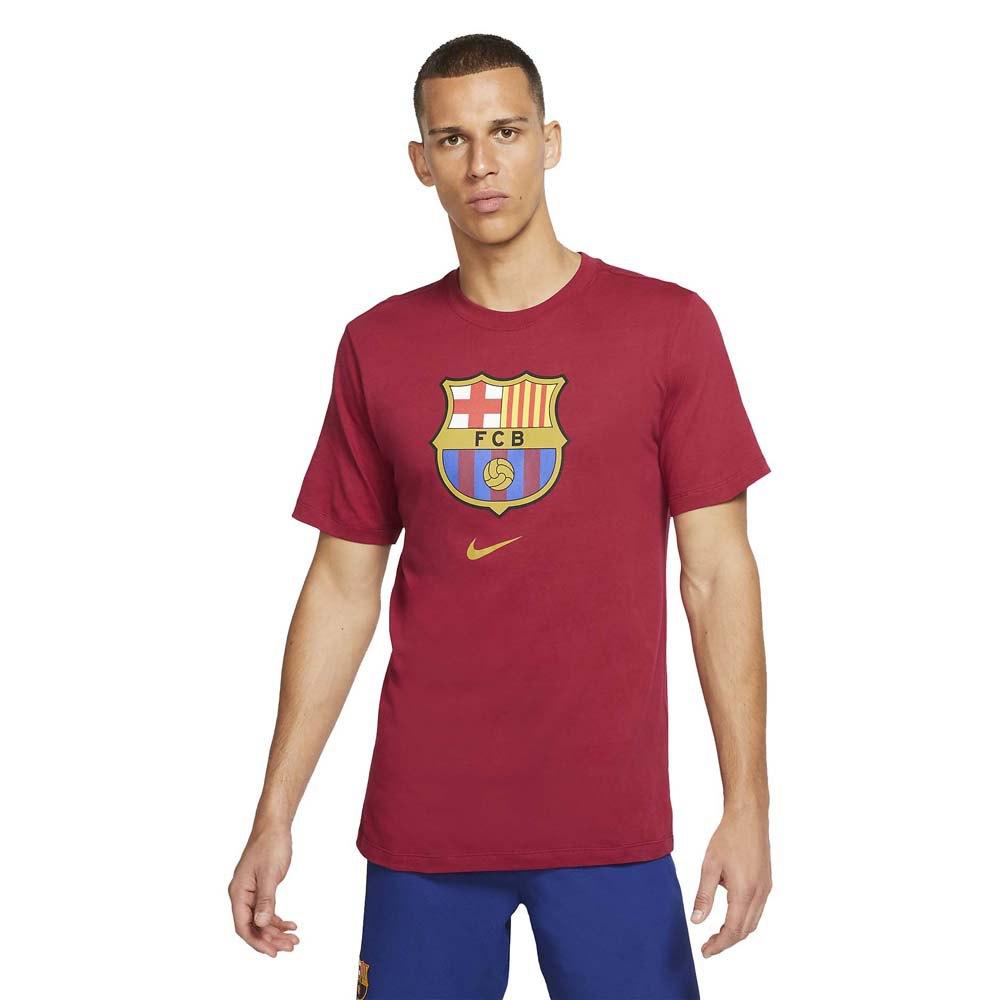 Nike Fc Barcelona Evergreen Crest 2 19/20 S Noble Red
