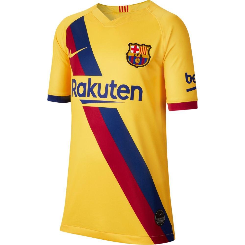 Nike Fc Barcelona Away Breathe Stadium 19/20 Junior XL Varsity Maize / Varsity Maize