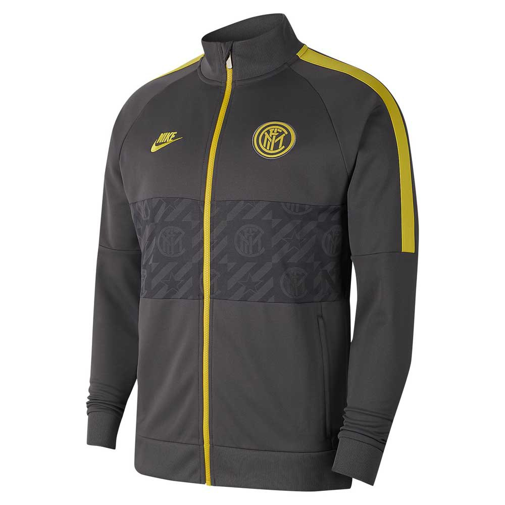 Nike Inter Milan I96 Champions League 19/20 L Dark Grey / Dark Grey / Tour Yellow
