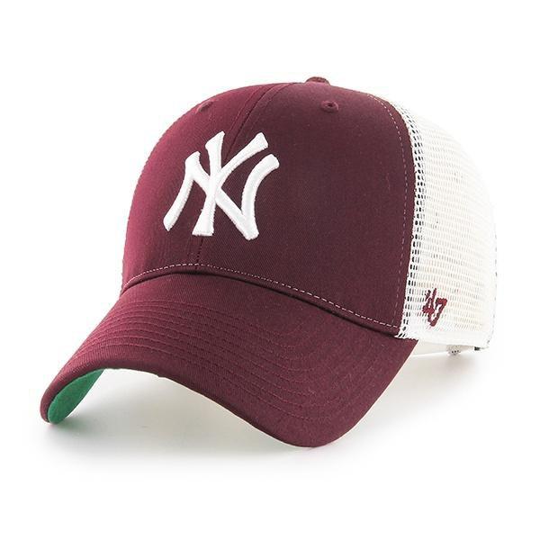 47 New York Yankees Branson Mvp One Size Maroon / White