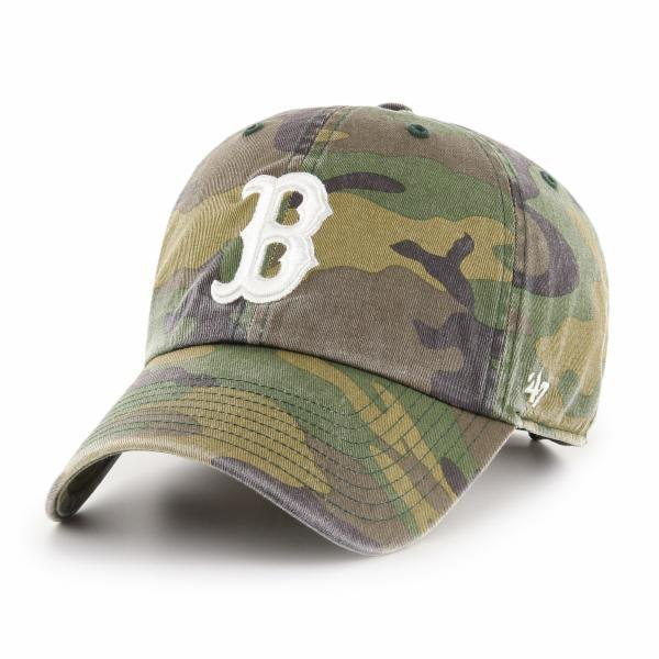 47 Boston Red Sox Camo Clean Up One Size Camo