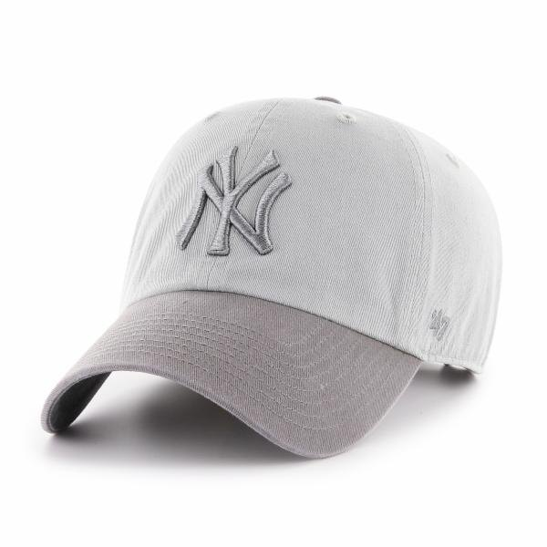 47 New York Yankees Two Tone Clean Up One Size Storm Grey