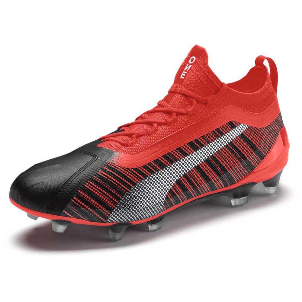 Puma Chaussures Football One 5.1 Fg/ag EU 46 Puma Black / Nrgy Red / Puma Aged Silver