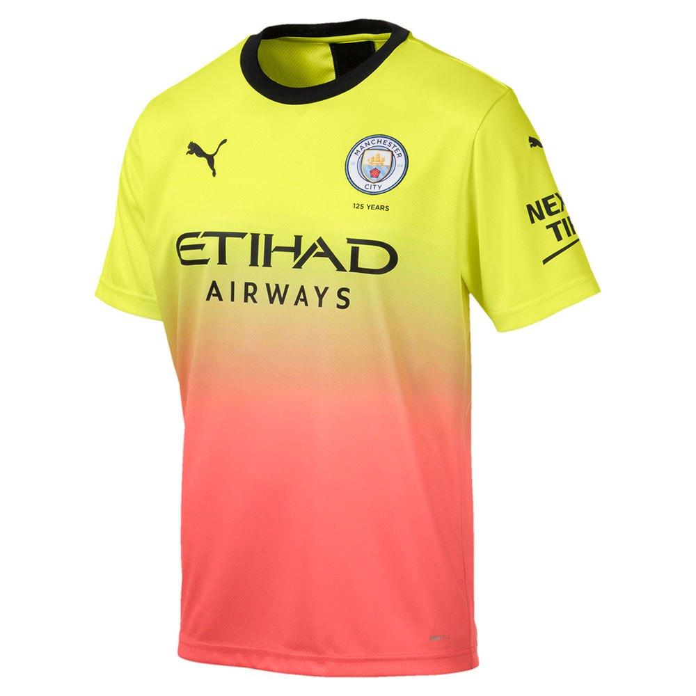Puma Manchester City Fc Third 19/20 XXL Fizzy Yellow / Georgia Peach