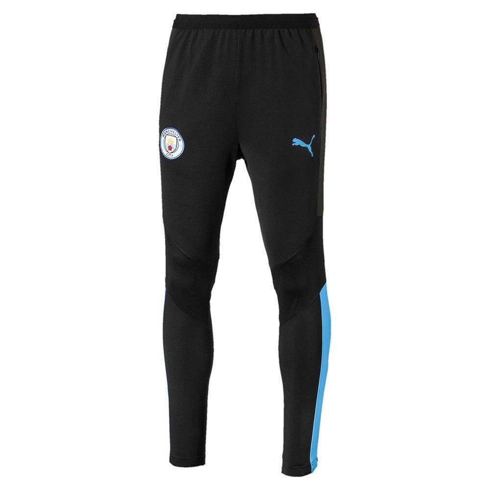 Puma Manchester City Fc Training Pro 19/20 XL Puma Black / Team Light Blue