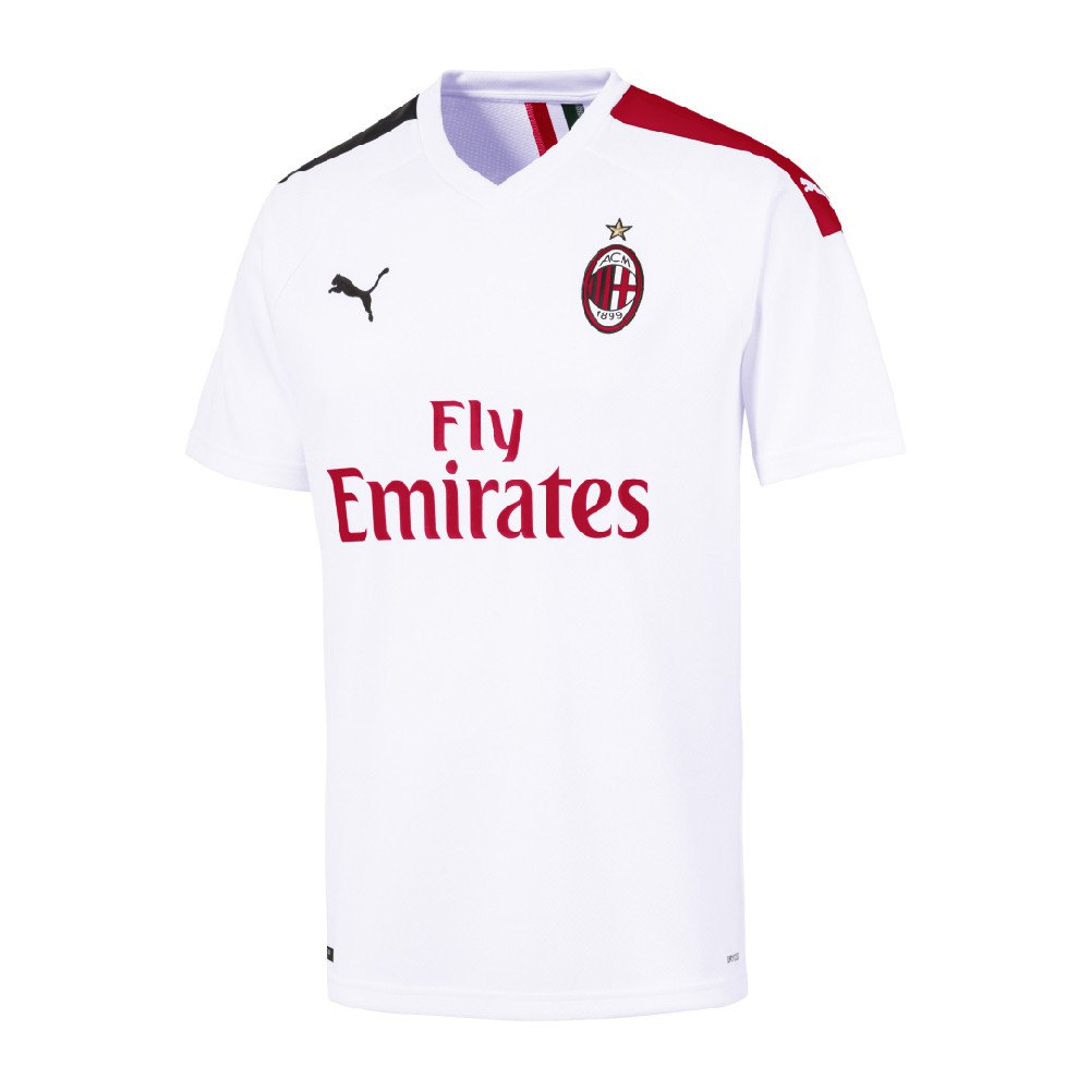 Puma Ac Milan Away 19/20 M Puma White / Tango Red