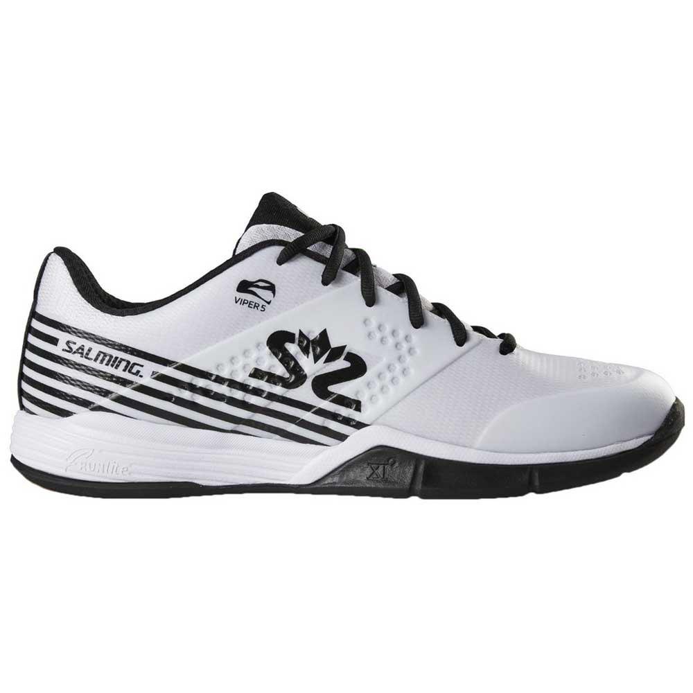 Salming Chaussures Viper 5 EU 47 1/3 White / Black