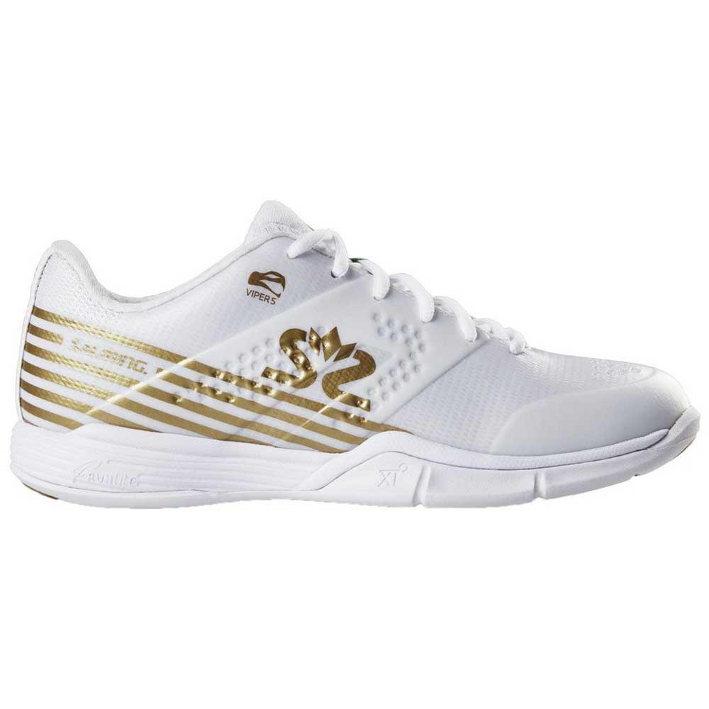 Salming Chaussures Viper 5 EU 38 2/3 White / Gold