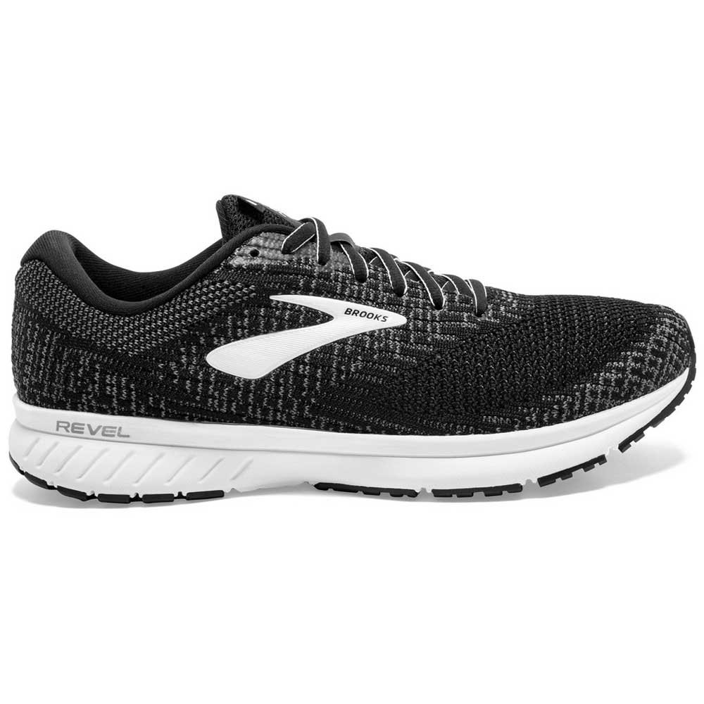 Brooks Revel 3 EU 49 1/2 Black / Blackened Pearl / White