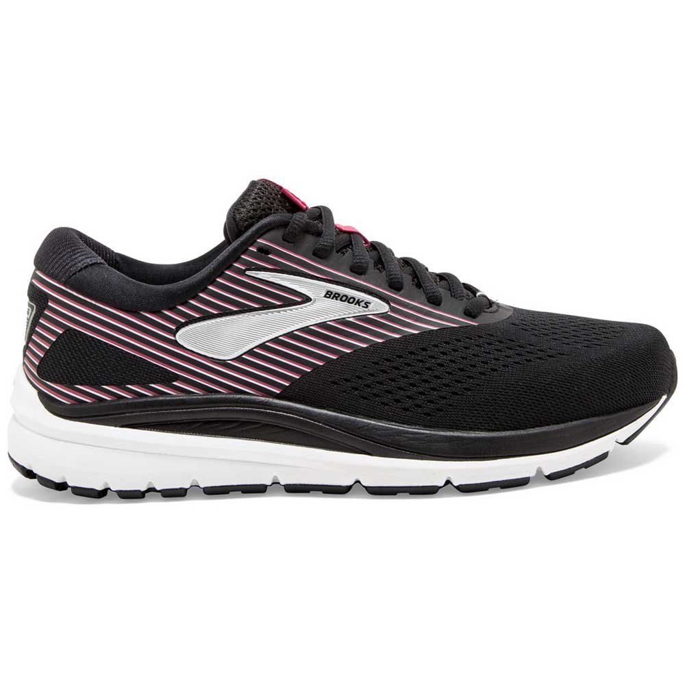 Brooks Addiction 14 Wide EU 35 1/2 Black / Hot Pink / Silver