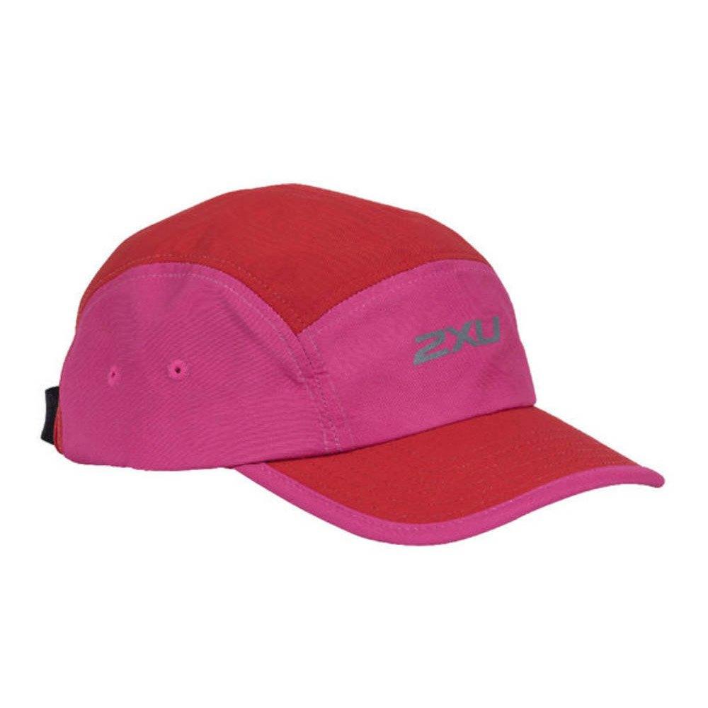 2xu Run Ripstop Camper One Size Fuchsia / Lipstick Red