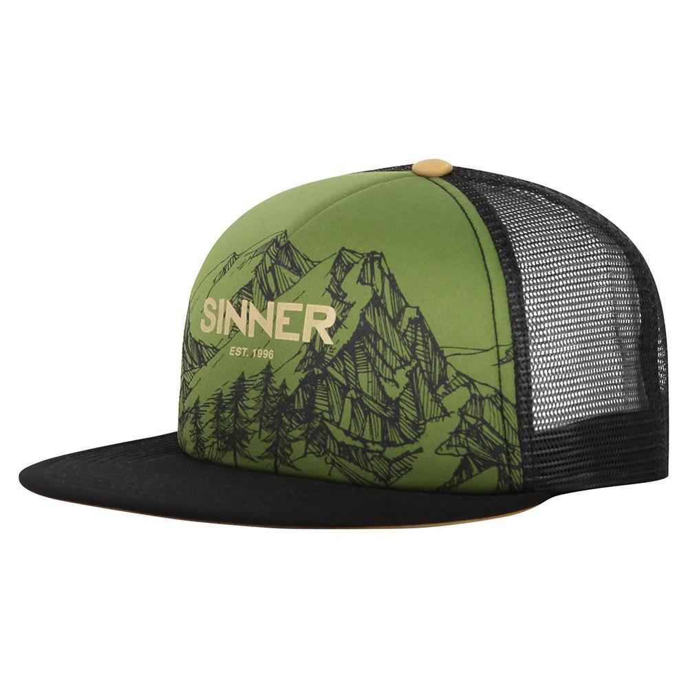 Sinner Cap Mountains One Size Moss Green