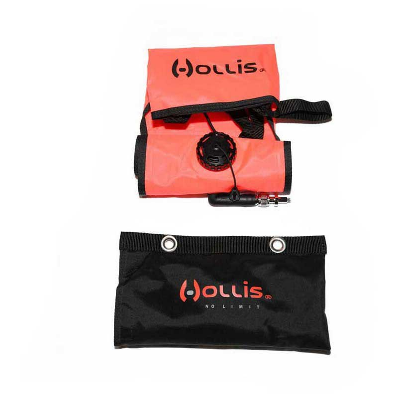 Hollis Marker Buoy With Sling Pouch Orange Tauchbojen Marker Buoy With Sling Pouch