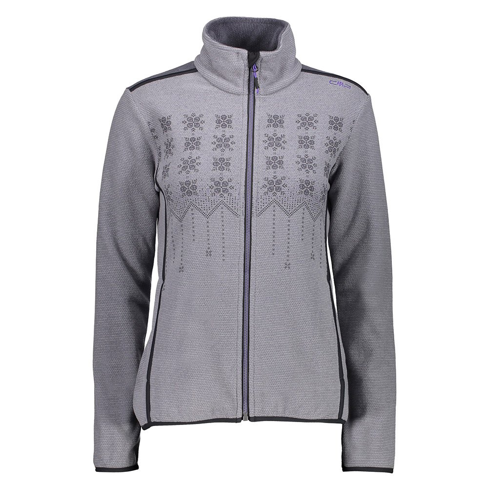 Cmp Woman Jacket S Grey / Grey Lighter