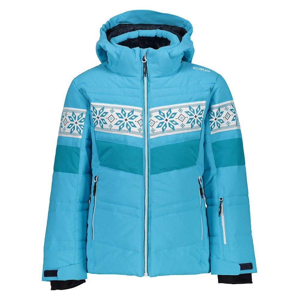 cmp-girl-jacket-snaps-hood-6-years-turquoise