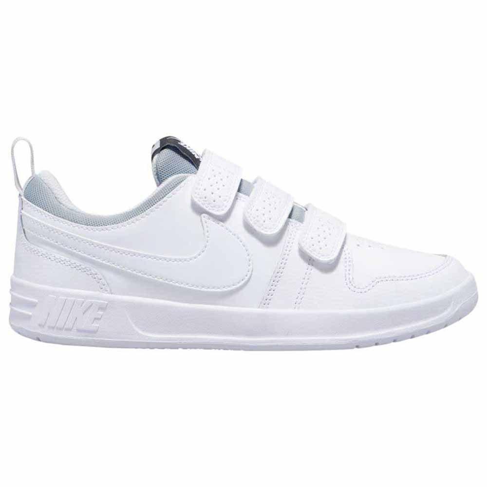 Nike Pico 5 Gs EU 38 White / White / Pure Platinum
