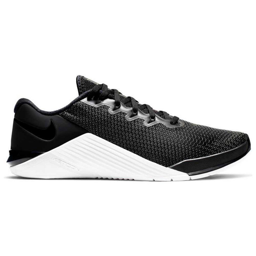 Nike Metcon 5 EU 43 Black / Black / White / Wolf Grey
