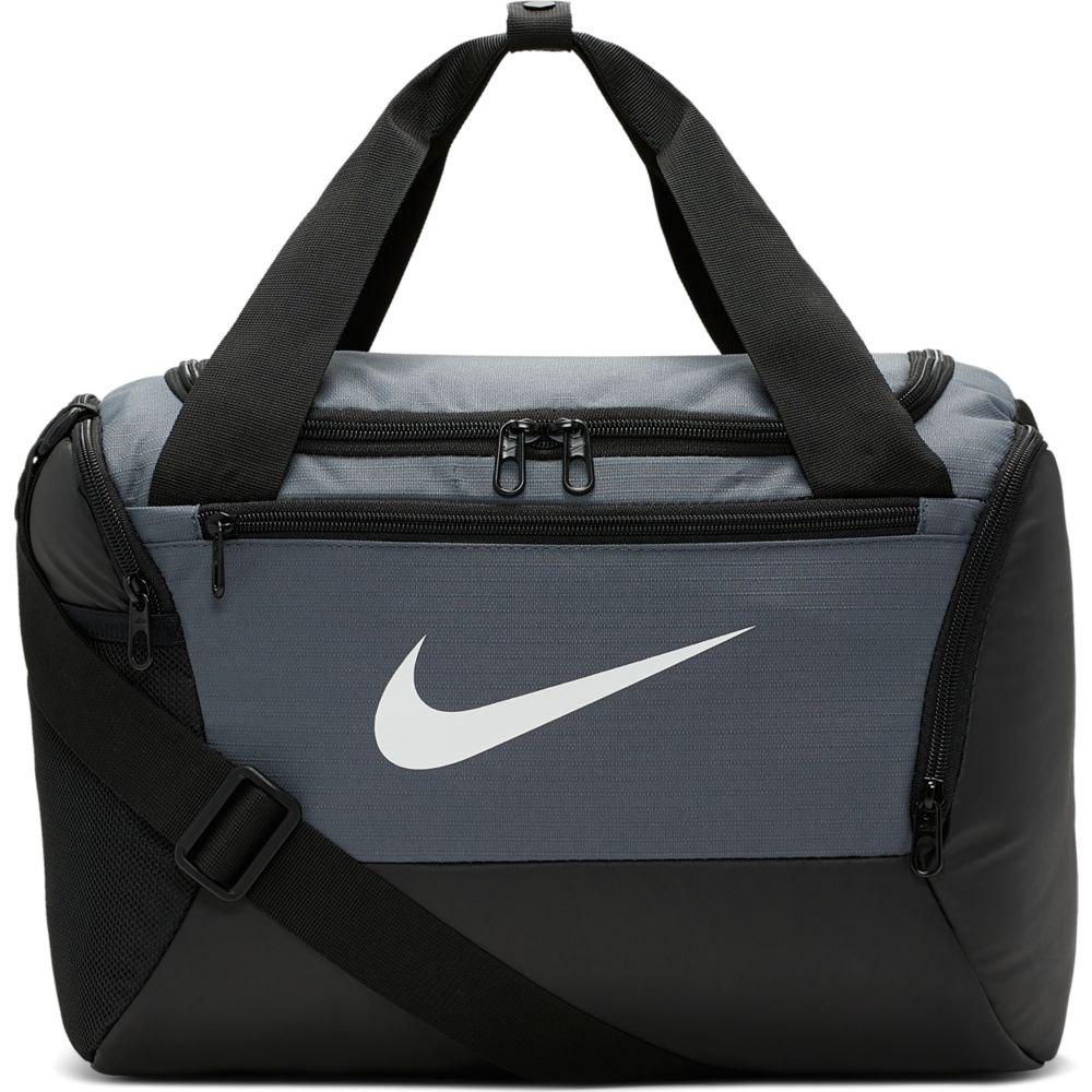Nike Brasilia Duffle 9.0 Xs 25l One Size Flint Grey / Black / White