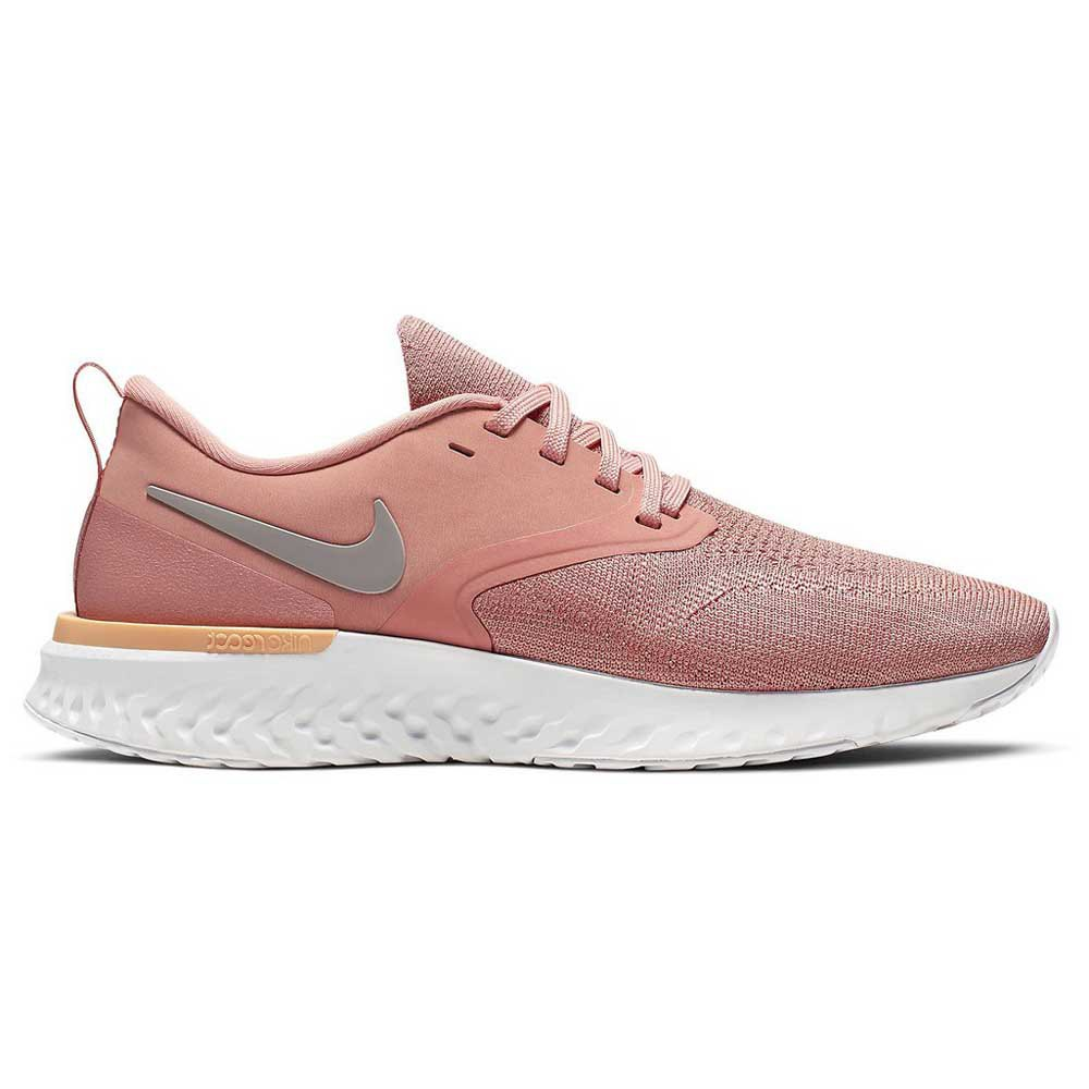 Nike Odyssey React 2 Flyknit EU 41 Pink Quartz / Pumice / Platinum Tint