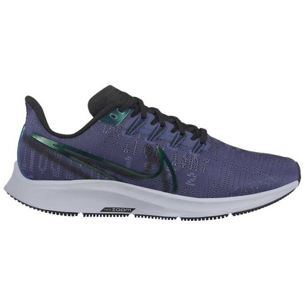 Nike Air Zoom Pegasus 36 Premium Rise EU 36 1/2 Sanded Purple / Black / Midnight Turquoise / Ghost