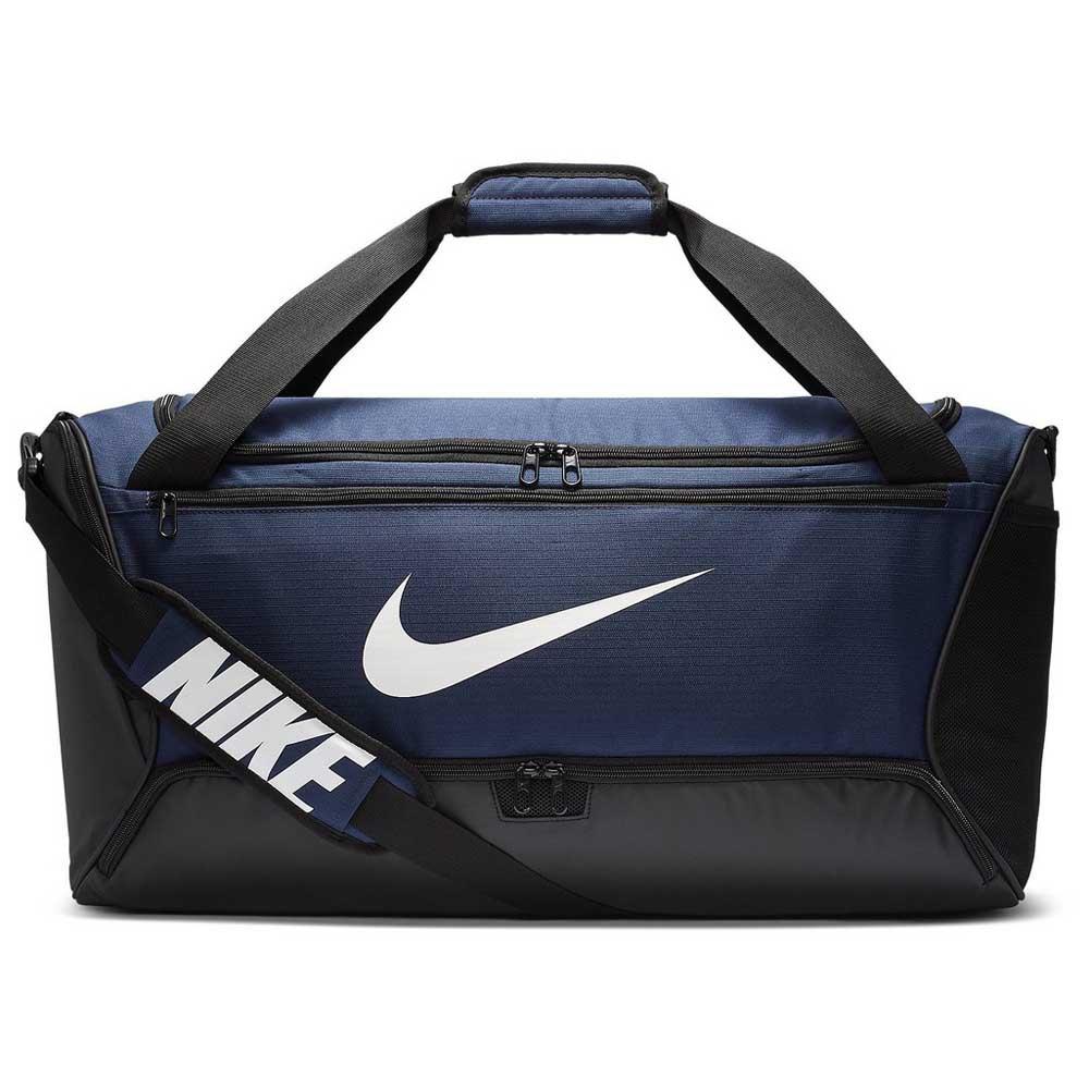 Nike Brasilia Duffle 9.0 M 60l One Size Midnight Navy / Black / White