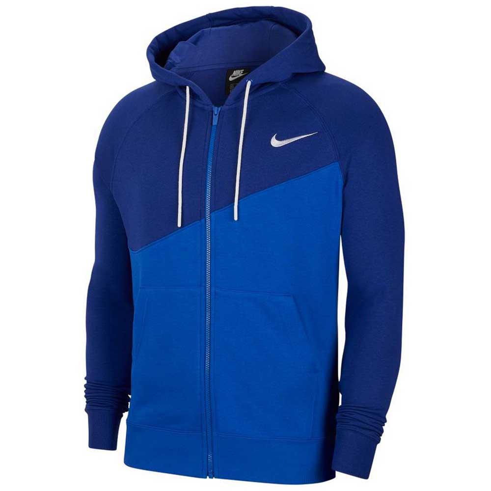 Nike Sportswear Swoosh XL Game Royal / Deep Royal Blue / White
