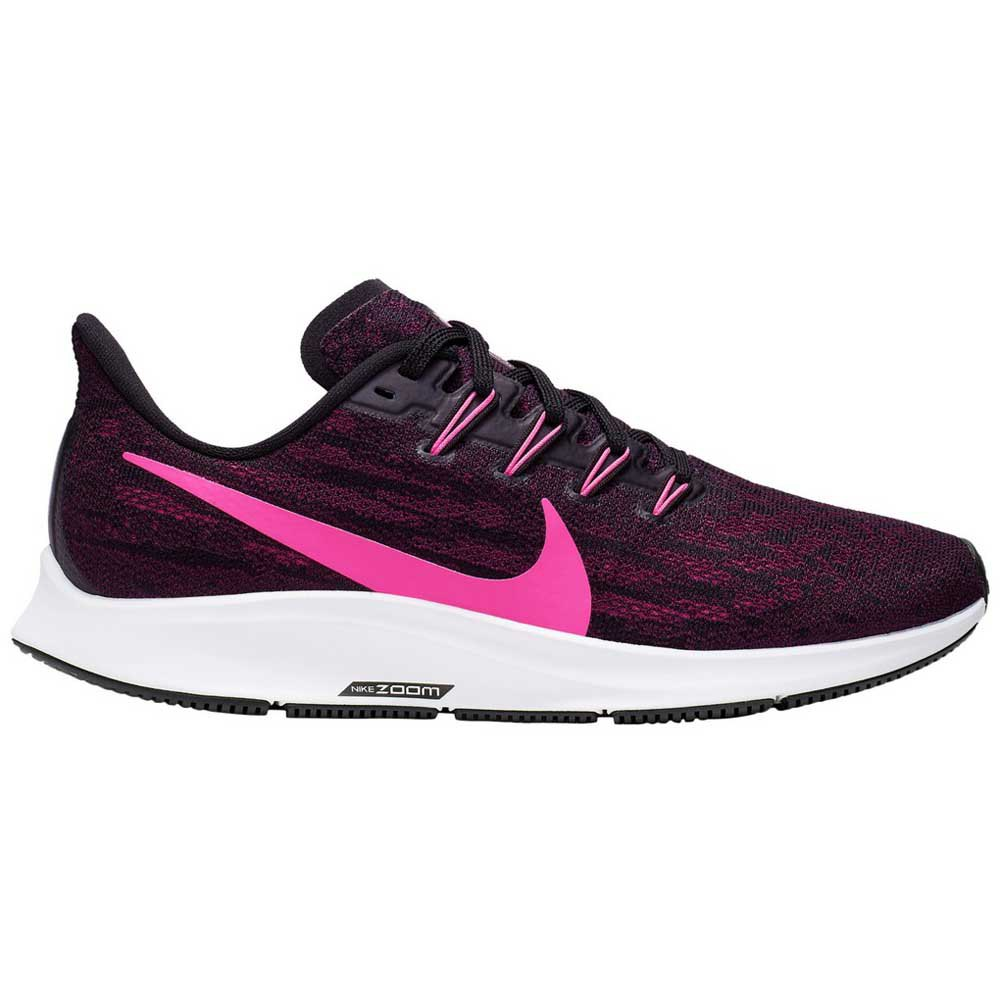 Nike Air Zoom Pegasus 36 EU 40 Black / Pink Blast / True Berry / White