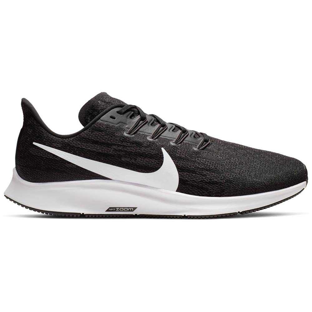 Nike Air Zoom Pegasus 36 Extra Wide EU 46 Black / White / Thunder Grey