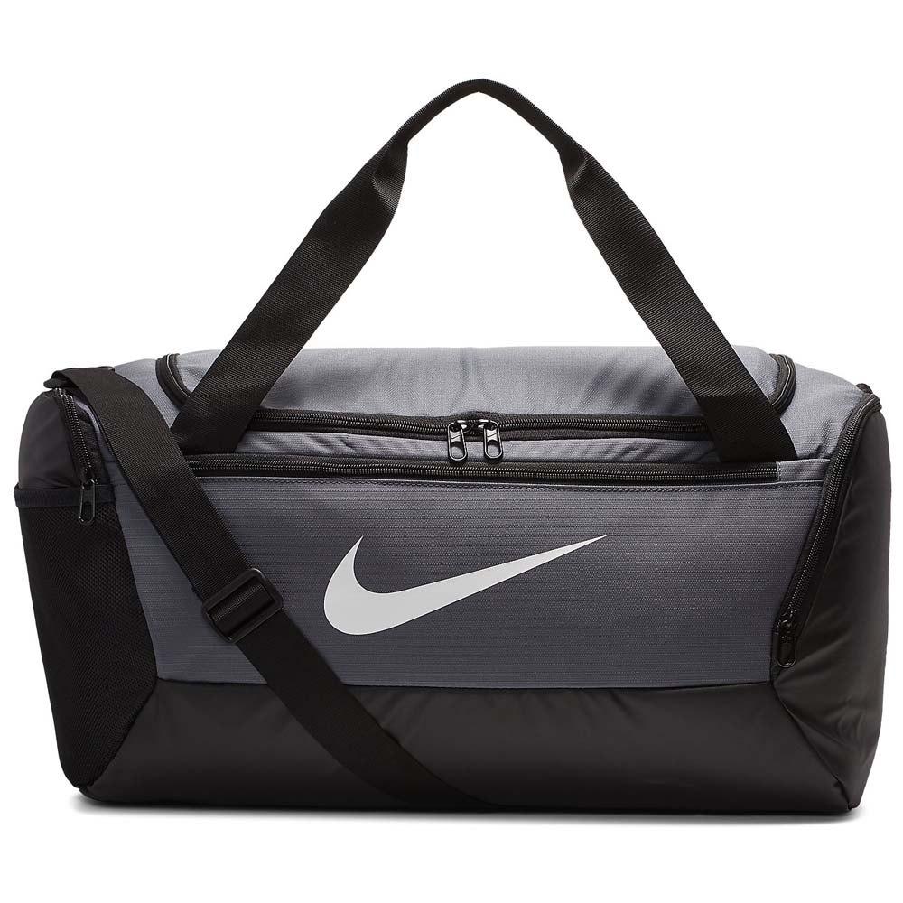 Nike Brasilia Duffle 9.0 S 41l One Size Flint Grey / Black / White