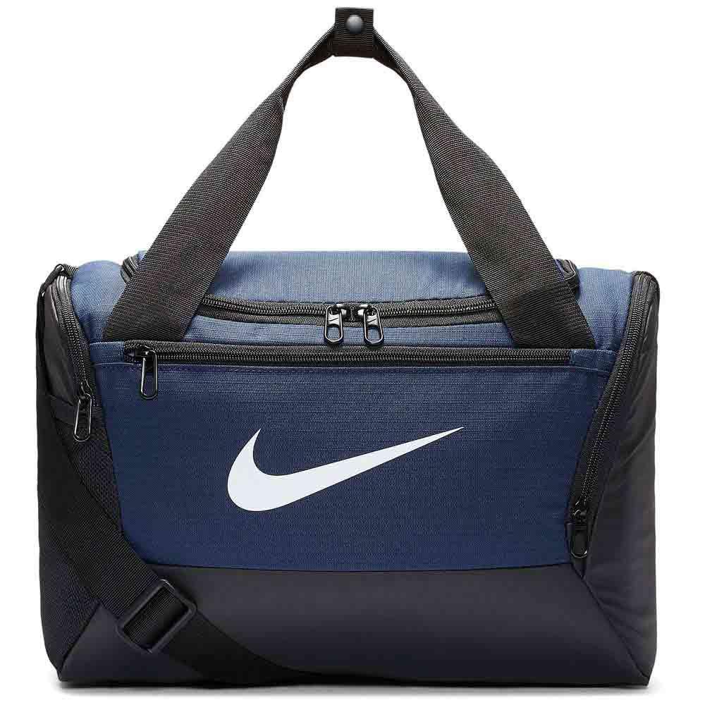 Nike Brasilia Duffle 9.0 Xs 25l One Size Midnight Navy / Black / White