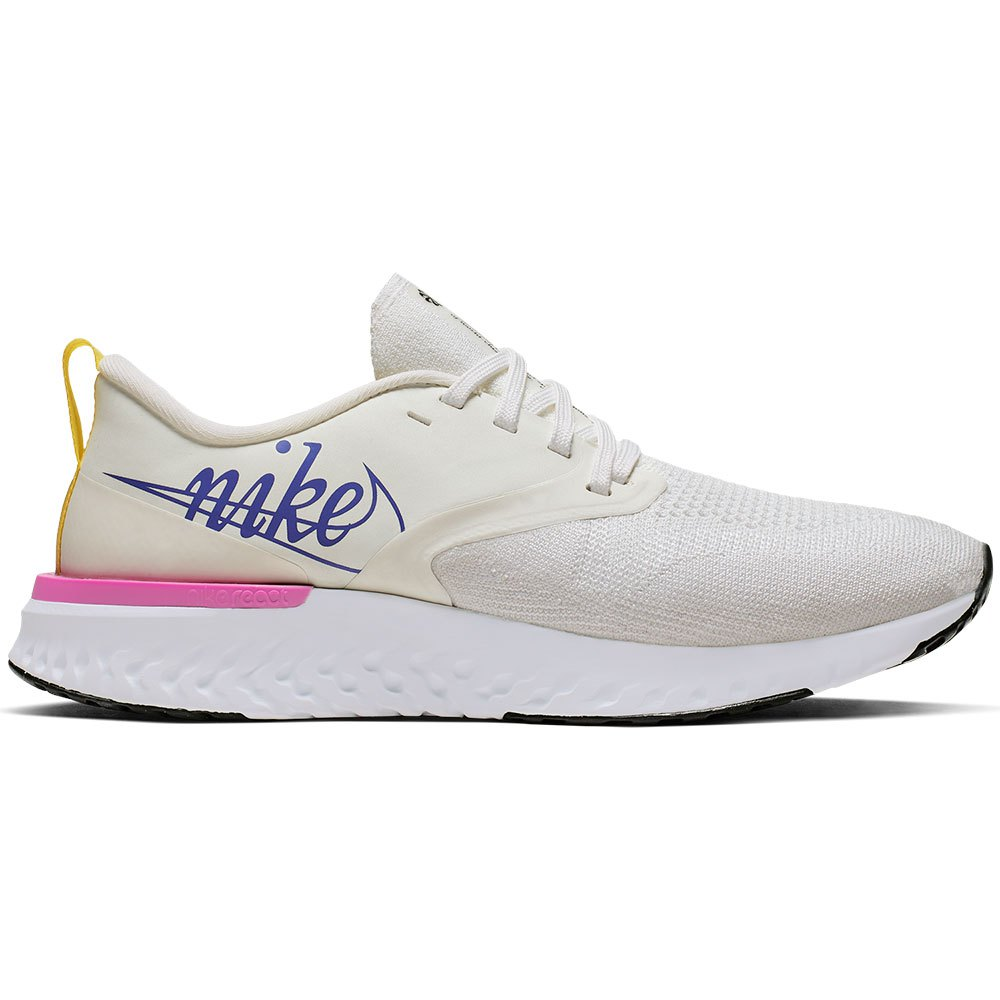 Nike Odyssey React 2 Flyknit Just Do It EU 38 Summit White / Psychic Purple