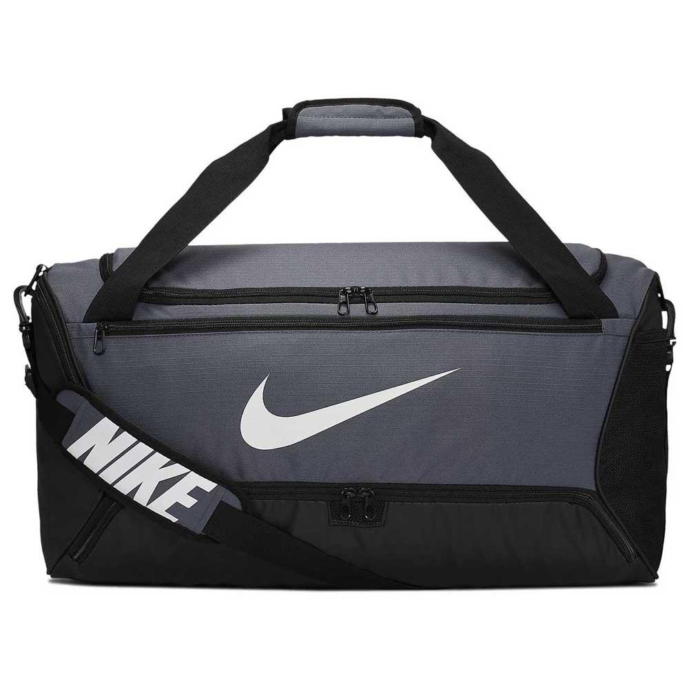 Nike Brasilia Duffle 9.0 M 60l One Size Flint Grey / Black / White
