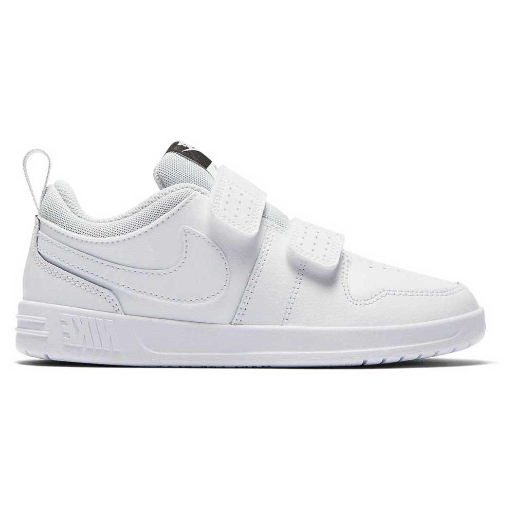 Nike Pico 5 Psv EU 31 White / White / Pure Platinum