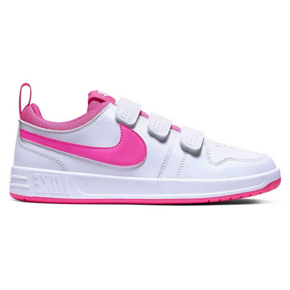 Nike Pico 5 Gs EU 37 1/2 White / Pink Blast