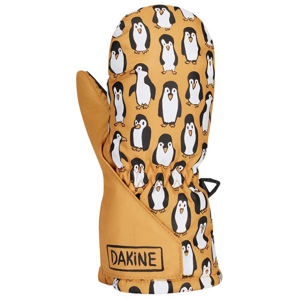 dakine-brat-mitt-toddler-3-4-years-golden-penguins